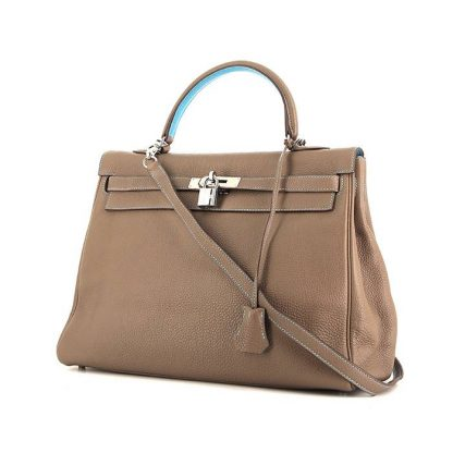 Best Replica Hermes Kelly 35 cm handbag in etoupe togo leather ... fe37b5f1c